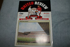 Manchester United vs Arsenal 1994/95 Premiership United Review Vol 56 No 21