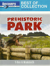 Discovery Channel ~ Best of Prehistoric Park T-Rex & Mammoth ~ DVD Free Shipping