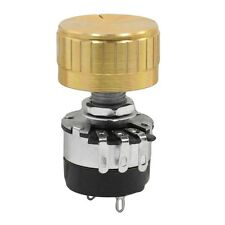 On/Off Switch Rotary Carbon Film Potentiometer 470K Ohm 5% WTH134-2