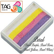 TAG Body Art One Stroke Professional Face Paint Cake (30g) ~ Petal