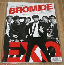 BROMIDE EXO GD X TAEYANG B1A4 INFINITE GOT7 K-POP MAGAZINE 2015 JAN JANUARY NEW