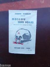 Tintin - Hergé - Moscou sans voiles - Joseph Douillet - Ed. 1934 - RARE - TBE!!