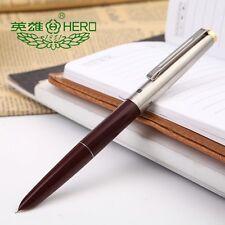 Hero329  Wine Red Fine Nib Fountain Pen