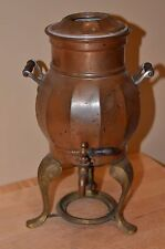 Antique 1907 Copper Percolator Coffee Pot Landers, Frary & Clark No Burner 409