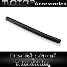 Chrome Black 12Ft 370cm Car Door Edge Guard Moulding Trim DIY Protector Strip