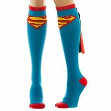 *NEW* DC Comics: Superman Knee High Socks with Wings by Bioworld