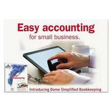 Dome Simplified Bookkeeping Renewal Software - 0114R