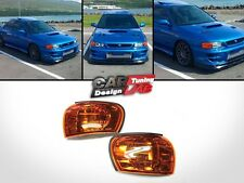 Amber Side Corner Light Lamp EMark Fits 92-00 SUBARU IMPREZA WRX STI GC8