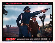 """1954 Them Lobby Card Movie Poster Replica 14 x 11"""" Photo Print"""