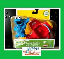 Cookie Monster Plane Action and Figure Toy Airplane Playskool Sesame Street