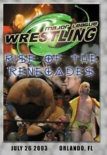 Major League Wrestling: Rise of the Renegades DVD, MLW Sabu The Sandman