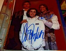 Star Wars Original Trilogy Autograph Photo Signed by Carrie Fisher, Hamill, Ford