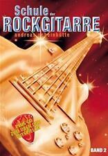 SCHULE DER ROCKGITARRE Bd.2 +CD,A.Scheinhütte E-Gitarre
