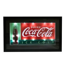 "CocaCola ""Ice Cold"" 3D LED Lighted Sign"