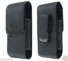 Leather Pouch Case for Net10 Samsung T404g, S390g, R355c, Consumer Cellular A697