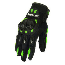 Kawasaki Gloves Motorcycle Motorcross Racing Moto Bike Full Finger Cycling Glove