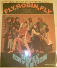 SILVER CONVENTION - FLY, ROBIN, FLY - ORIG. & MINT U.S.'70s  SHEET MUSIC