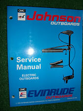 JOHNSON EVINRUDE 1993 12V 24V BOW MOUNT TRANSOM ELECTRIC OUTBOARD SERVICE MANUAL
