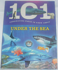NEW 101 FASCINATING FACTS ABOUT UNDER THE SEA OCEAN LIFE CHILDREN'S BOOK BW