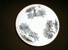 Royal Worcester Very Important Person PHEASANT HUNTING Jumbo Saucer (loc-sau38)