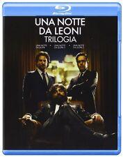 Una Notte Da Leoni 1 ,2 e 3 - La Trilogia (3 BLU RAY  ) I 3 Film in Cofanetto