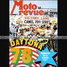 MOTO REVUE N°2357 PUCH 50 FRIGERIO KTM 250 MC SHEENE SUZUKI GS 1000 DAYTONA 1978