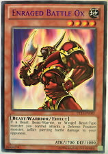 YUGIOH ENRAGED BATTLE OX DL15-EN002 DUELIST LEAGUE PURPLE RARE