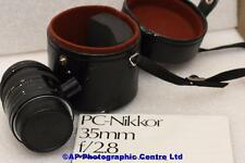 Nikon PC Nikkor 35mm F2.8 AI Shift Lens GREAT CONDITION