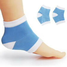 1Pair Footful Moisturising Gel Heel Socks Cracked Dry Skin Protector New Design