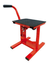 BEQUILLE PADDOCK STAND CROSS ROUGE