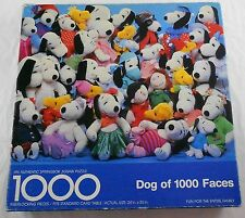 Springbok Dog of 1000 Faces 1000 Piece Jigsaw Puzzle Snoopy Woodstock Complete