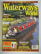 Waterways World magazine. Vol. 29. No. 2. February, 2000. Manchester Ship Canal.