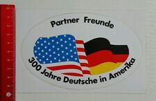 Aufkleber/Sticker: 300 Jahre Deutsche in Amerika (27051640)