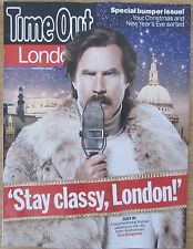 Will Ferrell - Ron Burgundy - Time Out magazine – 17 December 2013