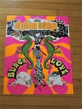 Afghan Whigs - Black Love Promotional Poster RARE lp cd deluxe