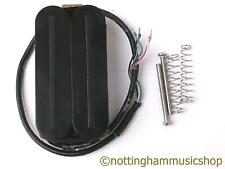 Electric guitar black neck position hot rail humbucker pickup coil split LP new