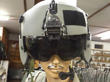 Gentex HGU-56/P Helicopter Pilots Helmet w/Dual Lens Visor-Spectra- Extra Large