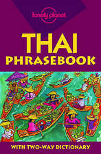 Lonely Planet Thai Phrasebook (Lonely Planet Phrasebook: India)-ExLibrary