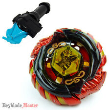 Fusion METAL Beyblade Masters BB111 Mercury Anubius Anubis+BLUE LAUNCHER+GRIP