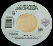 Southern Pacific Carlene Carter 45 Time's Up / Memphis Queen