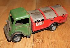 VINTAGE TRIANG MINIC 32M DUST CART TRUCK RARE 2 TONE GREEN / RED FRICTION