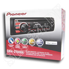 Pioneer Autoradio DEH2700UI CD MP3 USB Radio inkl.Apple iPhone Android Steuerung