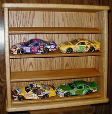 Oak 8 Car Display Case For 1/24th Scale Diecast Cars