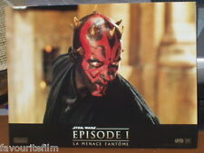 STAR WARS THE PHANTOM MENACE 1999: Set of 8 French Lobby Cards - Liam Neeson