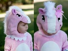 NWT POTTERY BARN KIDS TODDLER CHILD PINK PONY/HORSE HALLOWEEN COSTUME  2T 3T 2-3