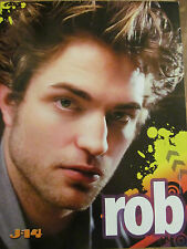 Robert Pattinson, Taylor Lautner, Double Full Page Pinup