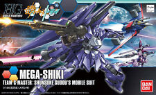 HGBF 1/144 Mega-Shiki Gundam Build Fighters TRY Plastic Model Kit Bandai