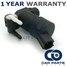 FOR FORD S-MAX (2006-2015) FRONT & REAR TWIN OUTLET WINDSCREEN WASHER PUMP