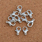 30pcs silver DIY Jewelry Findings Lobster Trigger Claw Clasps Connector!