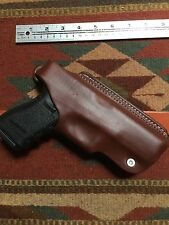 Glock Model 17 9MM & 22 40S&W Four Position Brown Leather Holster